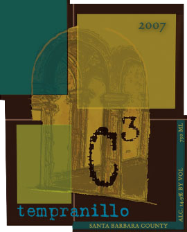 C3 Tempranillo label image