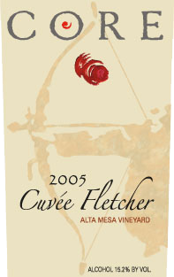 Core Wine Company Cuvée Fletcher label image
