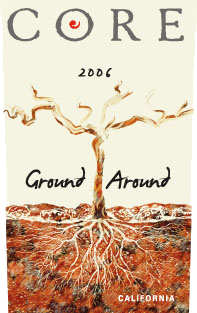 Core Wine Company Ground Around label image